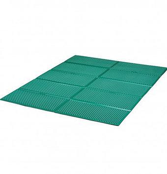 Туристический коврик, каремат Kovea Camp Wide Mat, Прямоугольный, Мест: 2, Цвет: Зелёный, Упаковка: Пакет, (KF