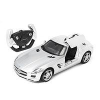 Радиоуправляемая модель автомобиль Rastar Mercedes-Benz SLS, 1:14, Управление: Джойстик, Материал: Пластик, Цв