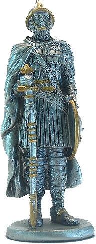Статуэтка оловянный солдатик Wise Unicorn Нормандский воин, Высота: 105 мм, Материал: Оловянный сплав, (AT0837