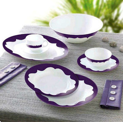 Сервиз столовый Luminarc Essence Curves Violet J4333, фото 2