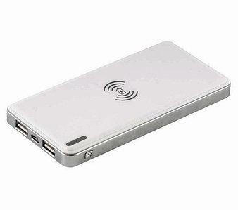 Мощный аккумулятор с функциями USB и беспроводной зарядки QIPlate 10000mAh