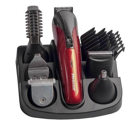 Набор для стрижки волос беспроводной PROMOZER MZ-2018, фото 2