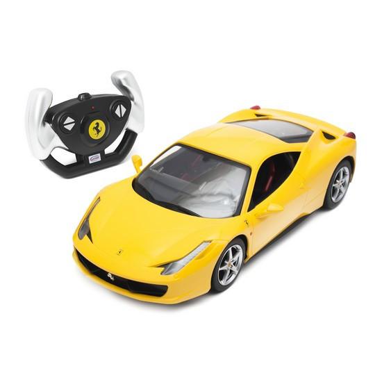 Радиоуправляемая модель автомобиль Rastar Ferrari 458 Italia, 1:14, Управление: Джойстик, Материал: Пластик, Ц