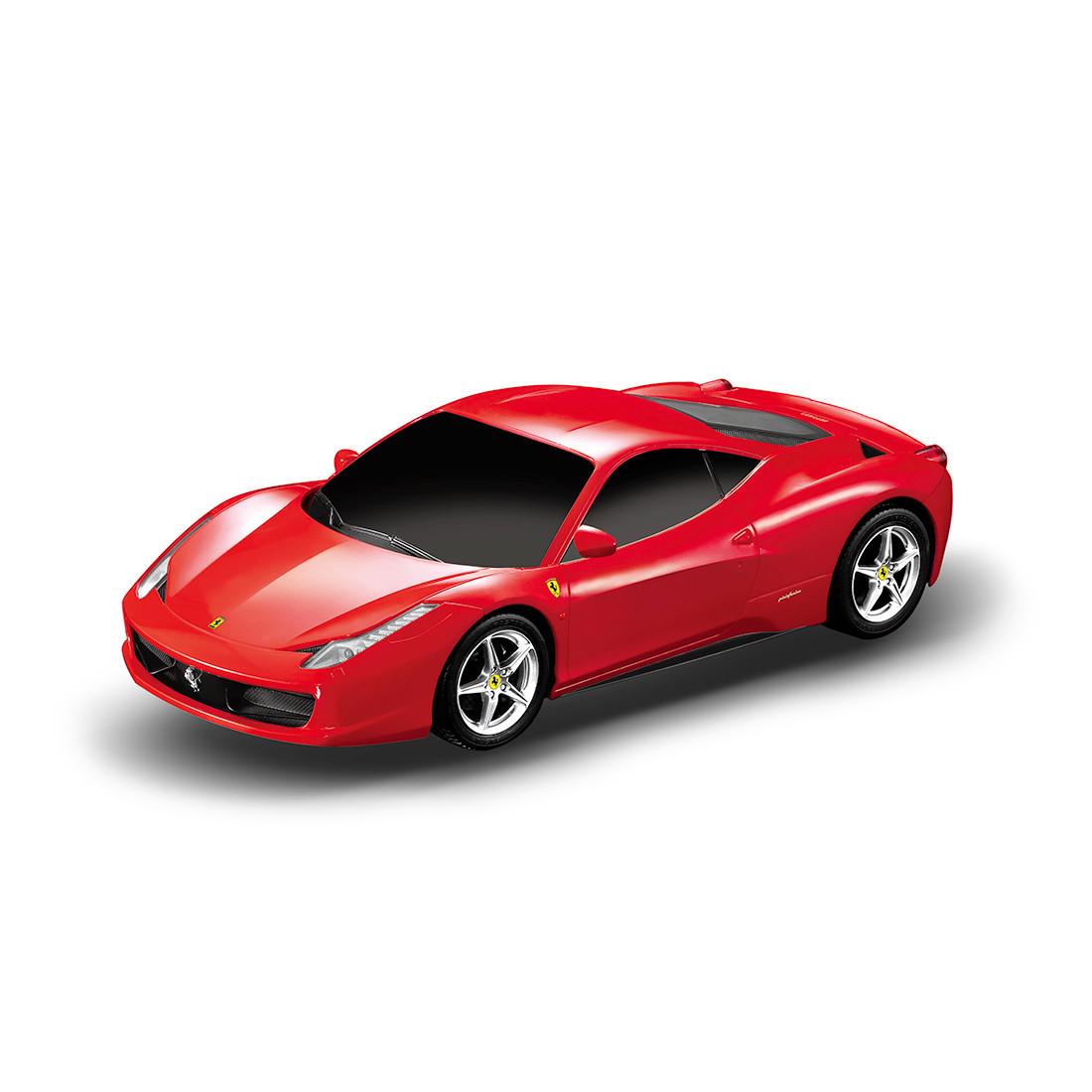 Радиоуправляемая модель автомобиль Rastar Ferrari 458 Italia, 1:32, Управление: Джойстик, Материал: Пластик, Ц