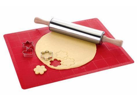 Коврик силиконовый с разметкой для раскатывания теста и выпекания (65 х 45 см), фото 2