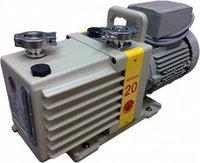 Насос вакуумный пластинчато-роторный двухступенчатый ADVAVAC-20, однофазный, 220В