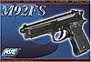 Пистолет для страйкбола ASG M92 FS, Калибр: 6,0 мм, Дульная энергия: 0,4 Дж, Ёмкость магазина (барабана): 13,, фото 4