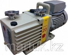 Насос вакуумный пластинчато-роторный двухступенчатый ADVAVAC-20, трехфазный, 220/380В