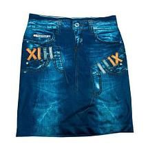Юбка с утягивающим эффектом Trim 'N' Slim Skirt (S-M / Черный), фото 3