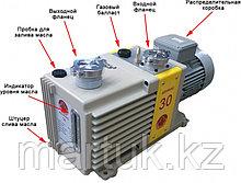 Насос вакуумный пластинчато-роторный двухступенчатый ADVAVAC-30, однофазный, 220В