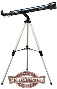 Телескоп рефракторный Tasco Luminova Novice, Фокусное растояние: 600 мм, Диаметр объектива: 50 мм, Увеличение