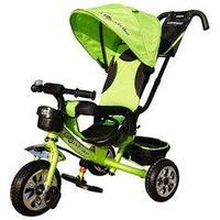 """Велосипед трехколесный """"Lexus Trike"""" (Цвета Кр,Син,Зел,Роз) Зеленый"""