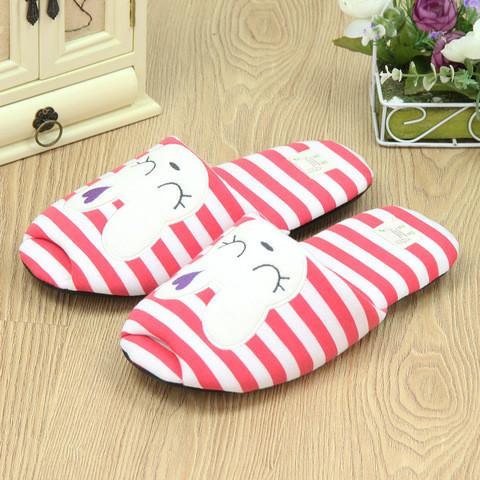 Тапочки домашние Pettimelo Cute Rabbit IN14SS-02-1 (Красный)