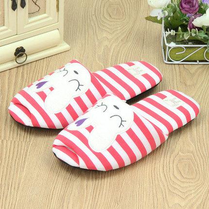 Тапочки домашние Pettimelo Cute Rabbit IN14SS-02-1 (Красный), фото 2