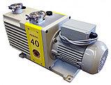 Насос вакуумный пластинчато-роторный двухступенчатый ADVAVAC-40, однофазный, 220В, фото 2