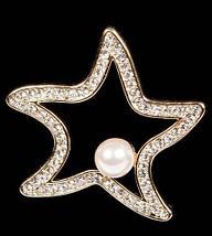 Брошь RedCoral «Морская звезда» (Черный), фото 2