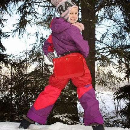 Шорты-ледянка 2-в-1 [Хит этой зимы для детей от 3 до 15 лет] ZZ10980-10985 (до 5 лет / Красный), фото 2