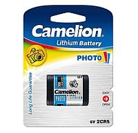 Аккумуляторная батарейка Camelion 2CR5-BP1, Lithium, 6 V (1 шт.)