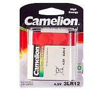 Аккумуляторная батарейка Camelion 3LR12-BP1 4.5V для фонариков (1 шт.)