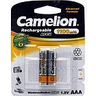 Аккумуляторная батарейка Camelion ААА NH-AAA1100BP2, Rechargeable, 1.2V, 1100 mAh (2 шт.)