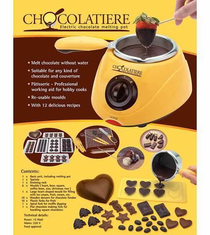 Шоколадница-фондю электрическая Chocolatiere MLK6071