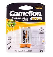 Аккумуляторная батарейка Camelion крона 6F22, 9V, 200 mAh (1 шт.)
