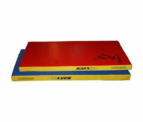 Мат гимнастический трехцветный LECO