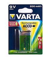 Аккумуляторная батарейка VARTA крона HR9V (R2U) E-Block, 9V (1 шт.)