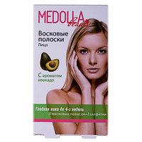 Восковые полоски для депиляции Medolla с ароматом авокадо (Лицо)