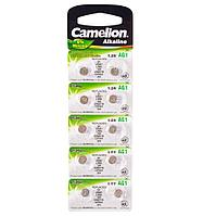 Батарейка Camelion AG1-BP10, Alkaline, AG1, 1.5V (10 шт.)