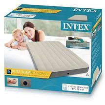 Матрас надувной Intex DELUX SINGLE-HIGH 64708/64709 [полуторный | двухспальный] (Полуторка), фото 3