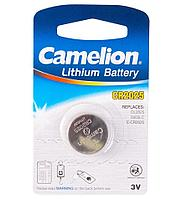 Батарейка Camelion CR2025-BP1 Lithium Battery 3V, 220 mAh (1 шт.)