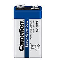 Батарейка Camelion крона 6F22-SP1B, солевая, 9V (1 шт.)