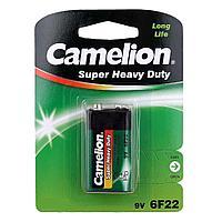 Батарейка Camelion крона 6F22-SP1G, Солевая, 9V (1 шт.)