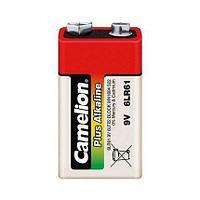 Батарейка Camelion крона 6LR61-SP4, Plus Alkaline, 6F22, 9V, 680 mAh (4 шт.)