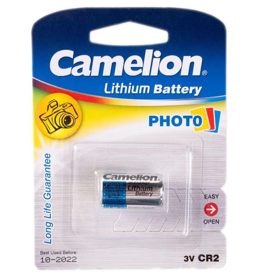Батарейка CAMELION CR2-BP1, Lithium, 3V (1 шт.)