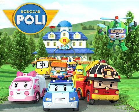 Конструктор детский Robocar POLI (Пожарная станция)