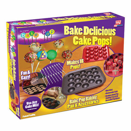 Форма для выпечки пирожного на палочках Bake Pop NJ07004, фото 2