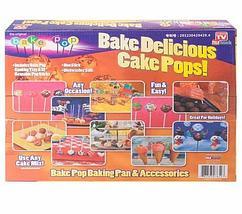 Форма для выпечки пирожного на палочках Bake Pop NJ07004, фото 3