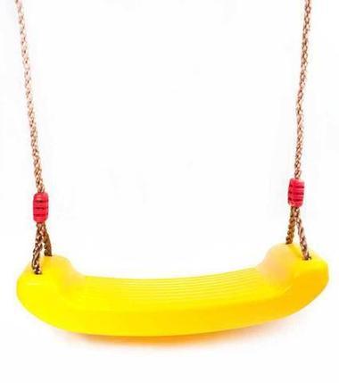 Качели подвесные Just Fun (Желтый), фото 2