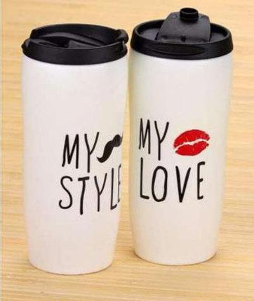 Кружка для кофе и чая керамическая My Bottle [450 мл] (My style), фото 2