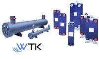 Теплообменники для охлаждения жидкости - кожухотрубные WTK (Италия) SCE 73 CA4P