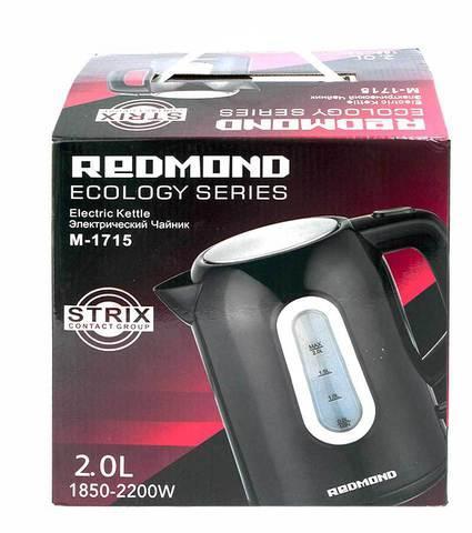 Электрочайник REDMOND M-1715 (Черный)