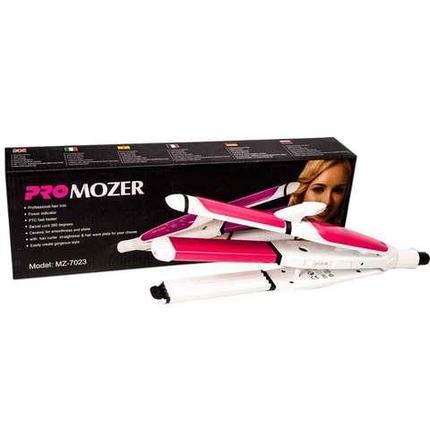 Стайлер для выпрямления, завивки и гофрирования волос PRO MOZER MZ-7023 3-в-1, фото 2