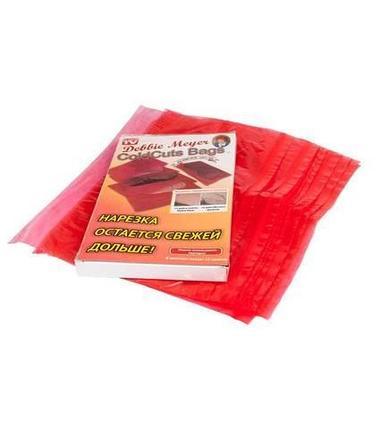 Пакеты для хранения пищевых продуктов Debbie Mayer [12 шт.] (Для мясной нарезки), фото 2