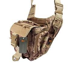 Сумка NATO наплечная/поясная St-baos 249 (песочный камуфляж), фото 3