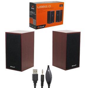 Колонки акустические активные для компьютера Kisonli USB 2.0 Т-003