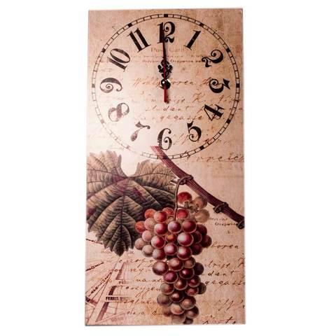 """Часы-картина настенные c кварцевым механизмом «Accent» (""""Виноград"""")"""