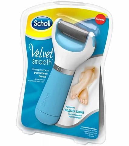 Терка для ступней электрическая Scholl Velvet Soft