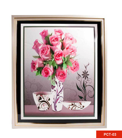 Картина со стразами «Букет цветов» (PCT-03)